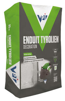 Enduit tyrolien decoration enduits et joints fa ade le catalogue deci - Enduit tyrolien video ...